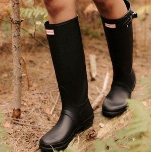 Dark Brown Hunter Rain Boots